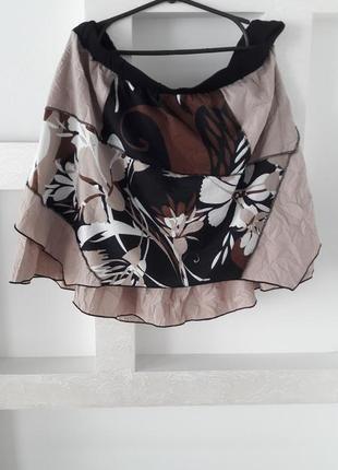 Летняя юбка большого размера