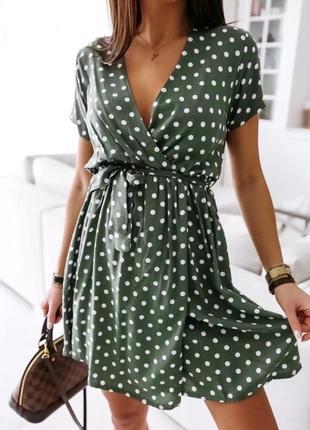 Платье в горох 🖤