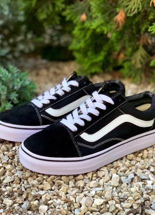 Женские vans old skool black