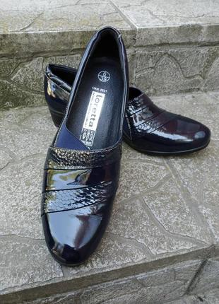 39 p. loretta новые лаковые туфли