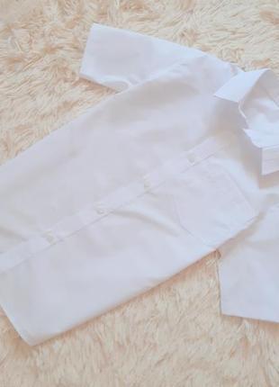 Качественная белоснежная рубашка от tu