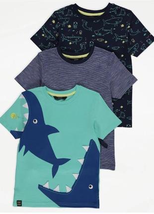 Набор футболок для мальчика рр.92-98 george (джордж)