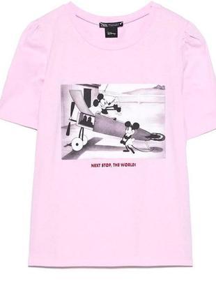 Новая женская футболка zara с биркой