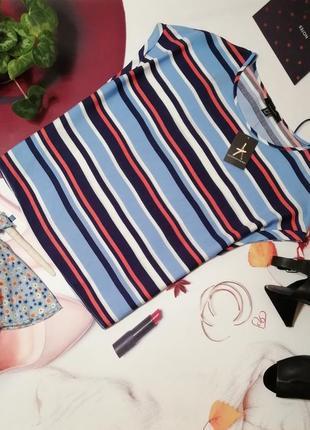 Блуза оверсайз atmosphere, 100% вискоза, размер 12/40, новая с этикеткой
