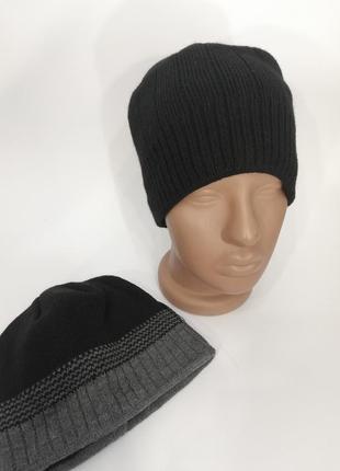 Мужская шапка зимняя, шапка подросток