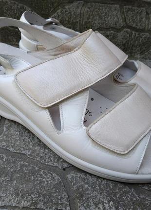 39 p. waldlaufer кожаные супер комфортные босоножки сандалии