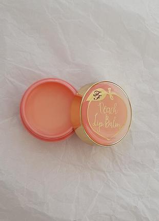 Бальзам для губ too faced peach lip balm 5 ml