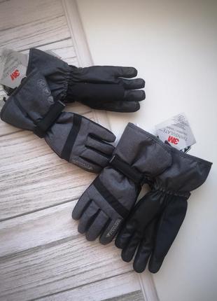 Перчатки, терма рукавицы лыжные
