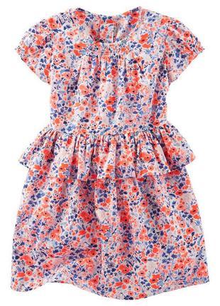 Цветочное платье oshkosh