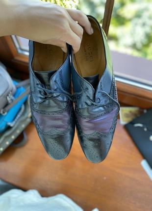 Чоловічі туфлі gucci