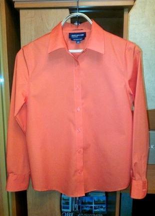 Яркая рубашка привезенная из америки