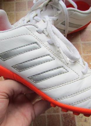 Сороконожки футбольные adidas детские длина по стельке 19,5 см