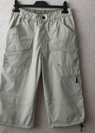Бриджи длинные шорты с карманами сафари сост.новых