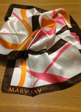 Шелковый платок шарф mary kay