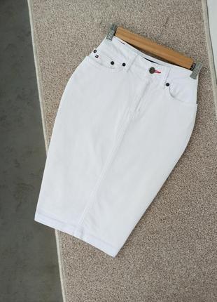 🌼стильная джинсовая юбка tommy hilfiger( оригинал)🌼
