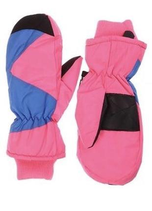 Термо рукавицы, перчатки, варежки, краги на девочку р. 6,5, германия
