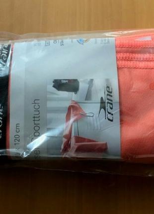 Спортивное полотенце абсорбент crane германия, 60x120 см