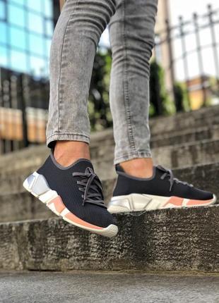 Шикарные лёгкие женские кроссовки balenciaga чёрные