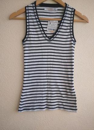 Стильная футболка zara, размер s