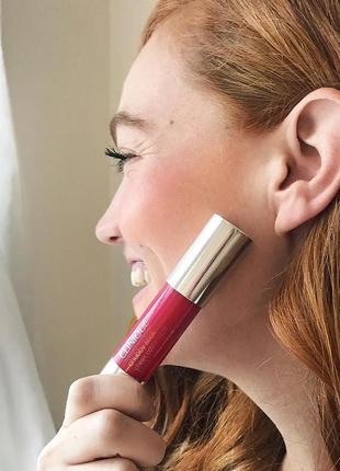 Кремові рум'яна-стік clinique chubby stick cheek color balm у відтінку roly poly rosy