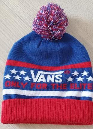 Vans elite beanie - unisex шапка-бини vans elite оригинал.