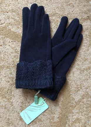 Женские перчатки с меховой подкладкой