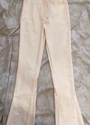 Хлопковые брюки jil sander оригинал