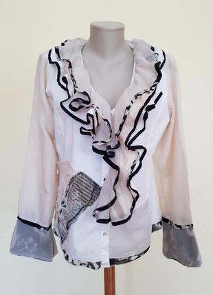 Итальянская бутиковая блузочка elisa cavaletti