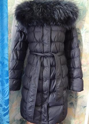 Зимнее пальто - пуховик clasna р.м