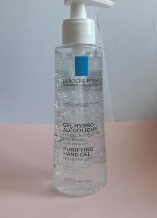 La roche-posay gel hydro-alcoolique purifying hand gel no rinse off