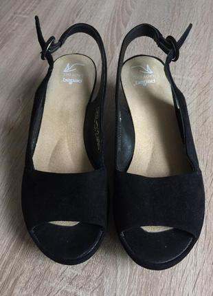 Freeflex pedag lady gel 37 р кожа босоножки, шлепки, туфли босоніжки, шльопанці