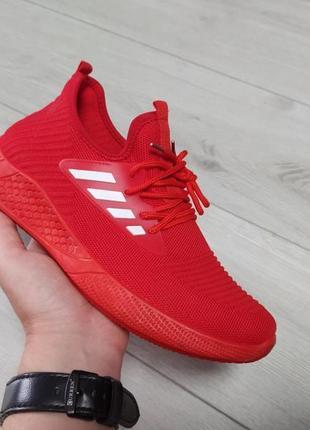 Мужские кроссовки красные 🔥