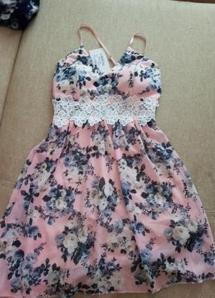 Плаття в квітковий принт style boom