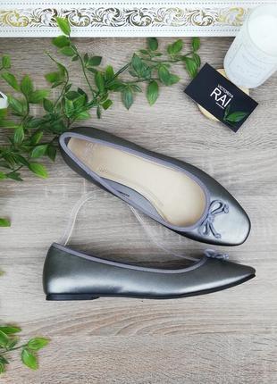 🌿39🌿европа🇪🇺 marks&spenser. фирменные стильные туфли низком ходу