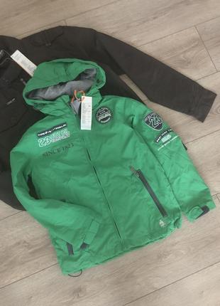 Куртка ветровка на натуральной подкладке