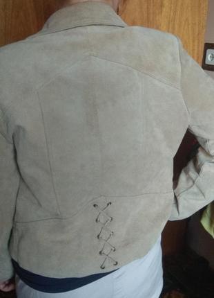 Joie de vivre куртка кожаная натуральная
