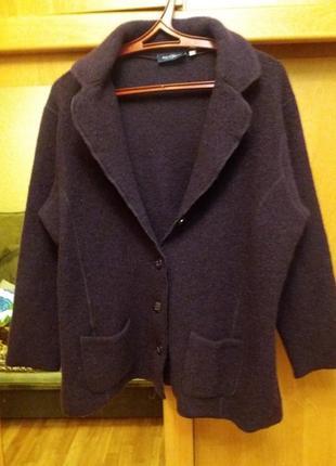 Продам стильный пиджак sixth sense 100% шерсть (wool laine) большой размер