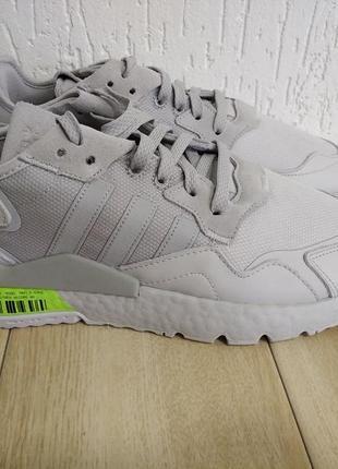Кросівки adidas nite jogger grey one fv3619