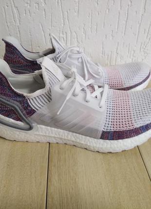 Кроссовки для бега adidas ultraboost 19 multicolour white   b37708