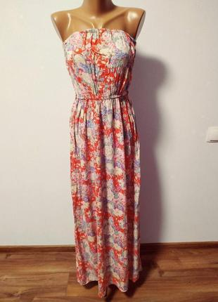 Невесомое платье с цветами / большая распродажа!