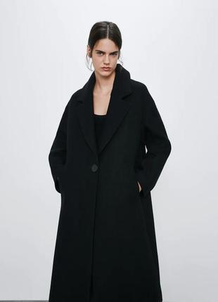 Пальто zara хит модель осень 2020 шерсть премиум качество оверсайз!