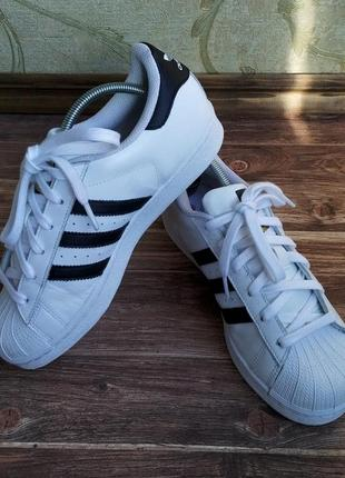 Кроссовки adidas superstar. размер 38/23,5 ст.