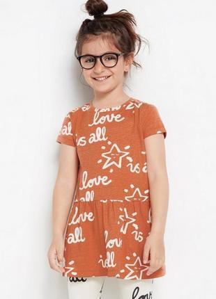 Платье с классным принтом из органического хлопка, швеция, lindex