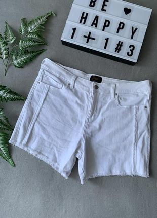 Білі джинсові шорти f&f❤️