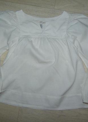 Лёгкая блузка-разлетайка, туника h&m 6-7 лет