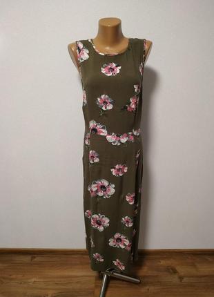 Платье с завязками на спинке m-l warehouse / большая распродажа!