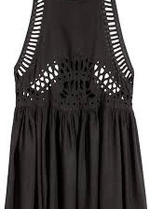 Платье h&m  черное