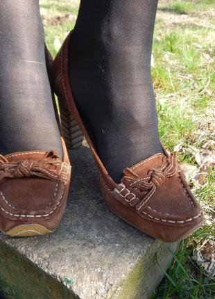 Туфли под сабо
