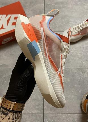 Nike vista white orange