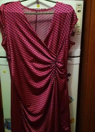 Очень коасивое яркое платье